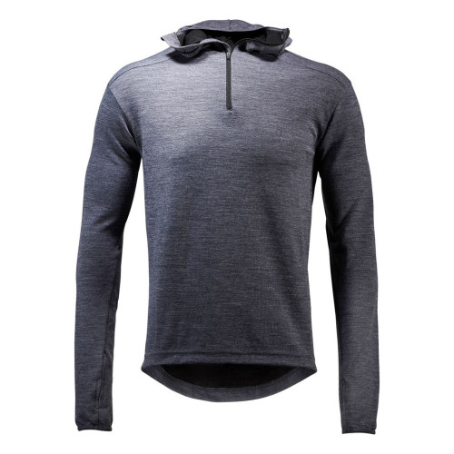 Berthe / Merino Hooded Top