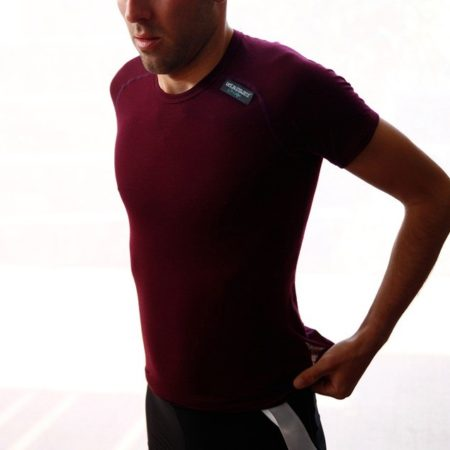 Marcelle / Shrot Sleeve Merino Base Layer