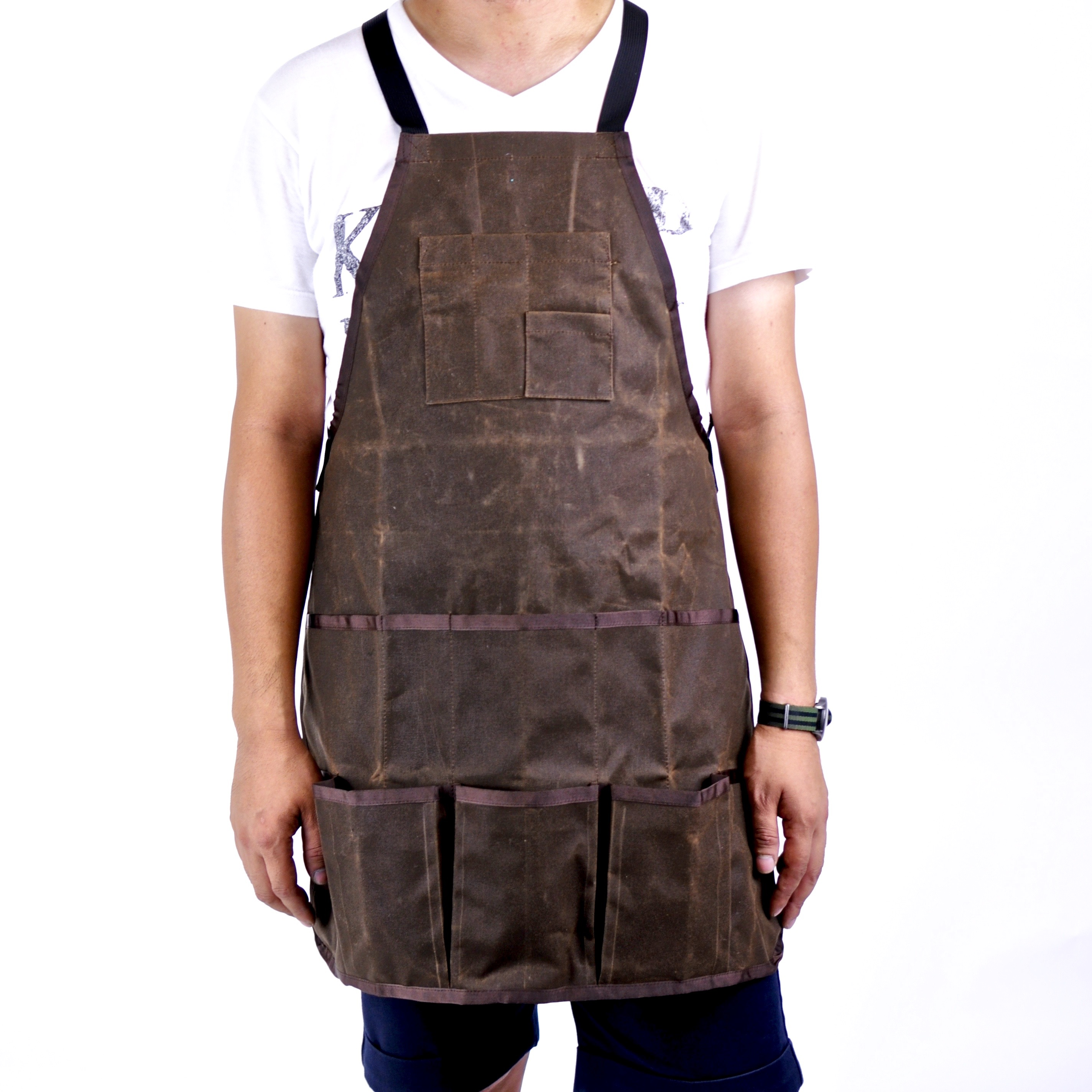 Waxed Canvas Aprons