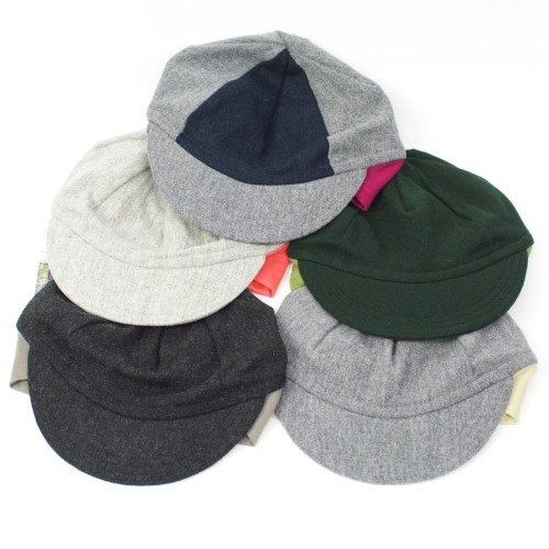 Wool Flip Up Cap