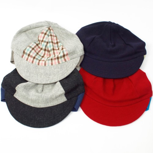 Wool Flip-Up Cap