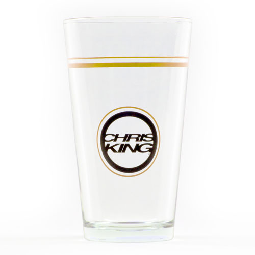 Chris King Pint Glass