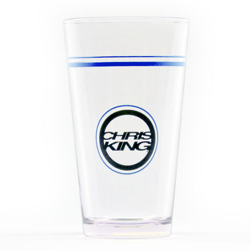 Colorblock Pint Glass