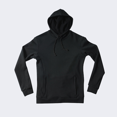 Hooded Rinding Sweatshirt