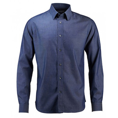 Armelle / Merino Chambray Shirt