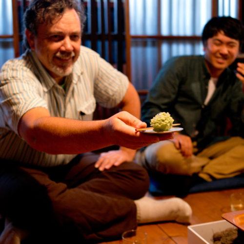 Chris King in Japan