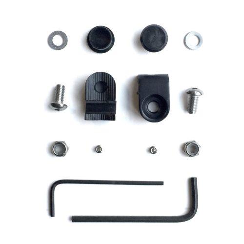 Honjo Whittle Clamp 5mm Black