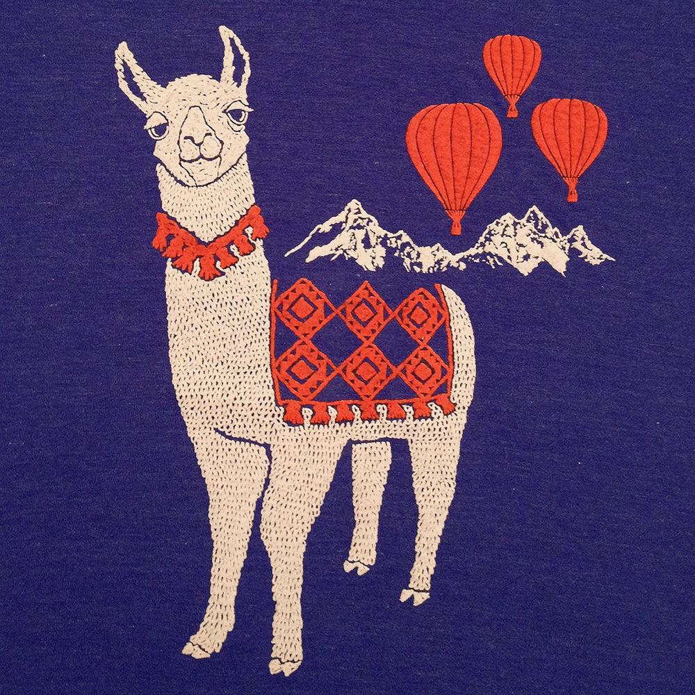 high_resolution_mens_llama_tshirt_2 gnome