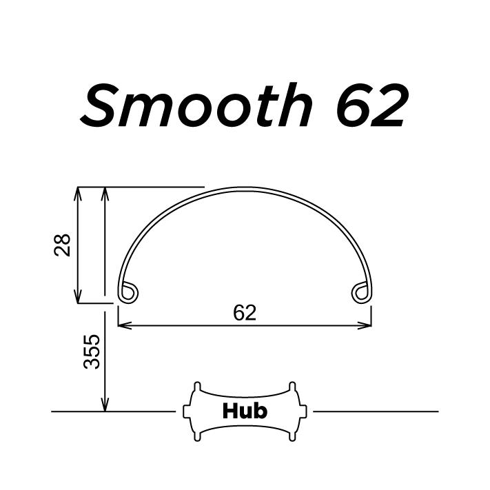 SW x Honjo - Smooth 62